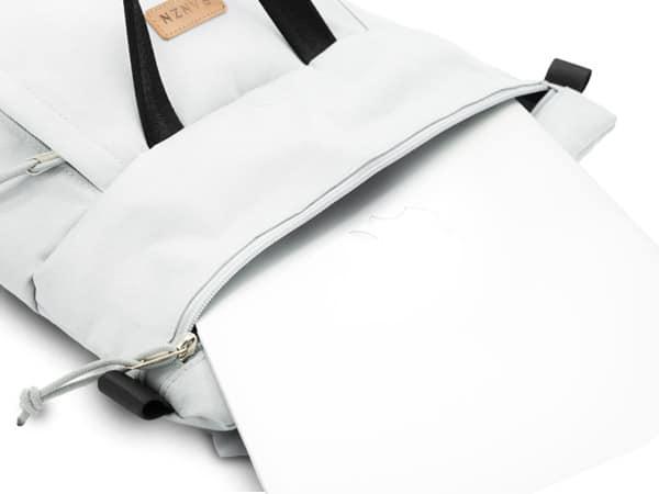 RANZN Rucksack Backpack Produktbild Geöffnet